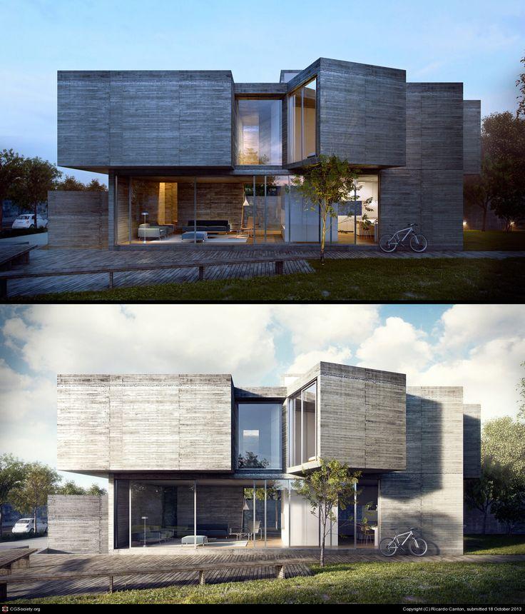 Itatiba House by Ricardo Canton | 3D | CGSociety