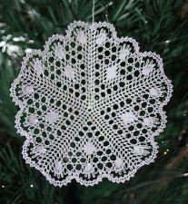 Mini Star Torchon Bobbin Lace Pattern
