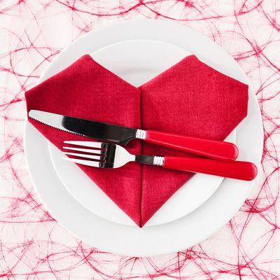 pliage-coeur pour la saint valentin