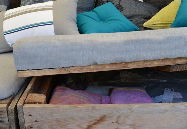 les 16 meilleures images du tableau banquette pour ext rieur ou int rieur palox bois recycl. Black Bedroom Furniture Sets. Home Design Ideas
