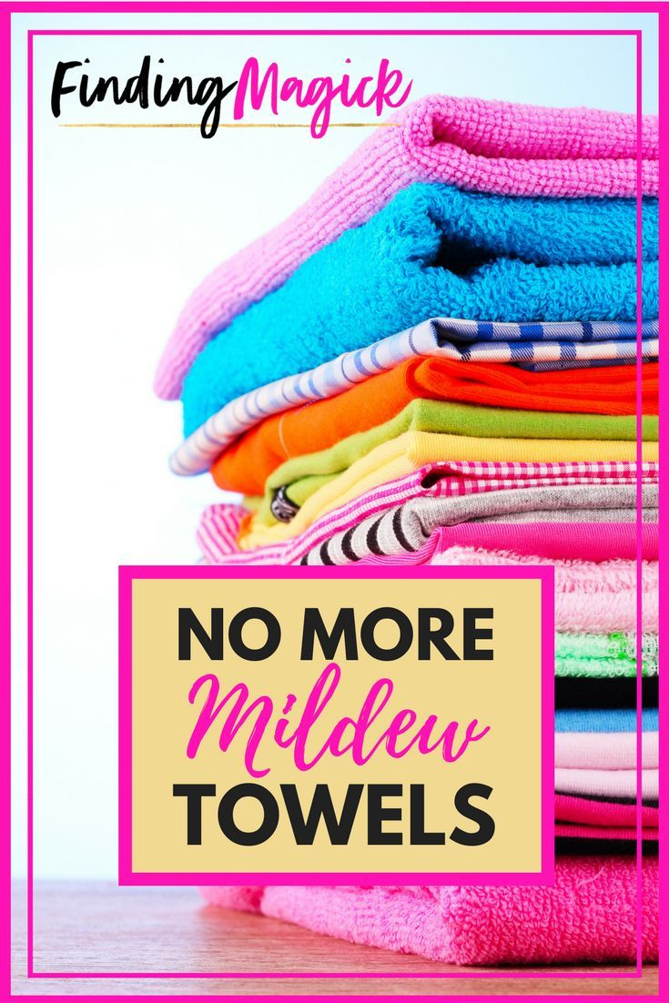 Get Mildew Smell Out Of Towels The Foolproof Way Good To