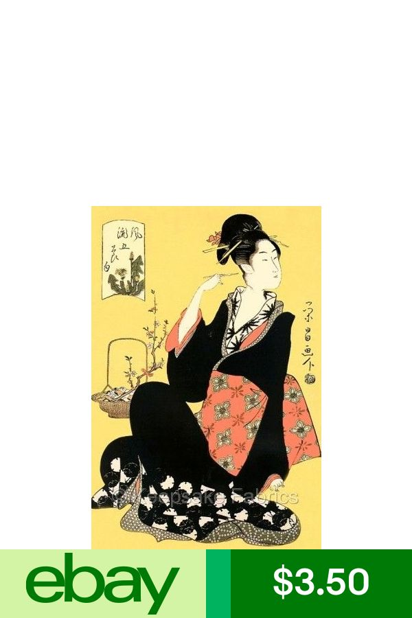 Geisha Girl Beauty Quilt Block Multi Sizes FrEE ShiPPinG WoRld WiDE 10D