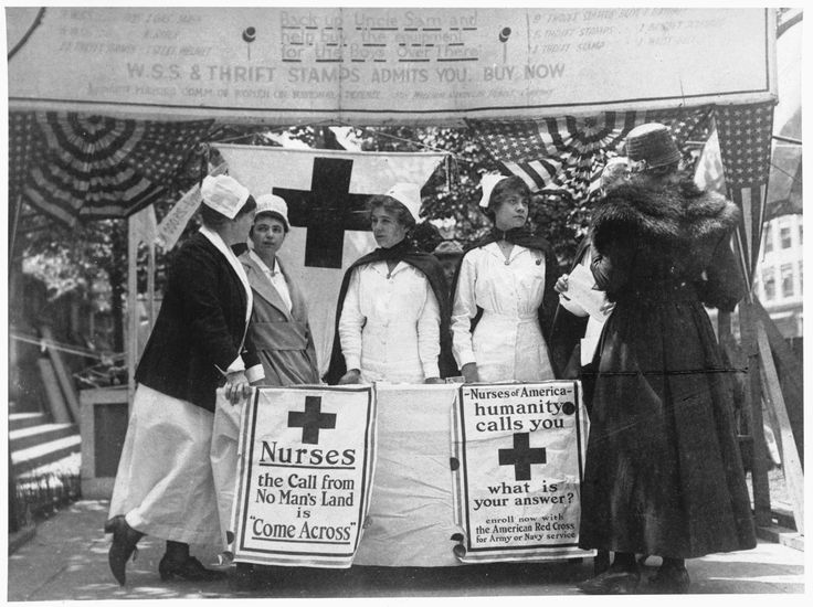 Service  the things they sacrificed to be a Nurse In days long gone...we owe them so much...