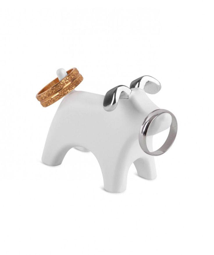 Anigram Dog - Joyero en forma de perro. $25.000 COP. Cómpralo aquí--> https://www.dekosas.com/productos/regalos-mujer-dekosas-umbra-anigram-dog-detalle