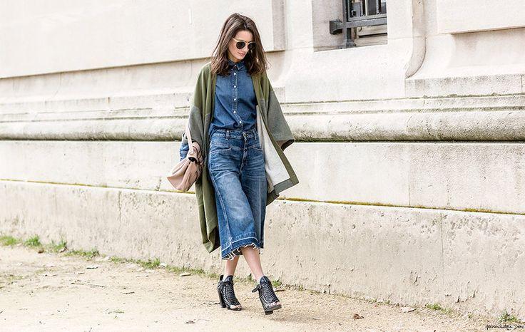 Manual de uso del 'culotte', el pantalón de la temporada - Harper's Bazaar: