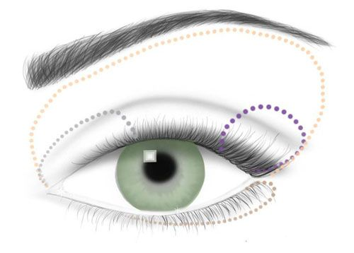 explained: Makeup Tools, How To Makeup For Green Eye, Green Eye Makeup How To, Eye Makeup Tips, Blue Eye Makeup, Eye Shadows Blue/Green Eye, Blue Daytime, Applying Makeup, Bluedaytim Placements