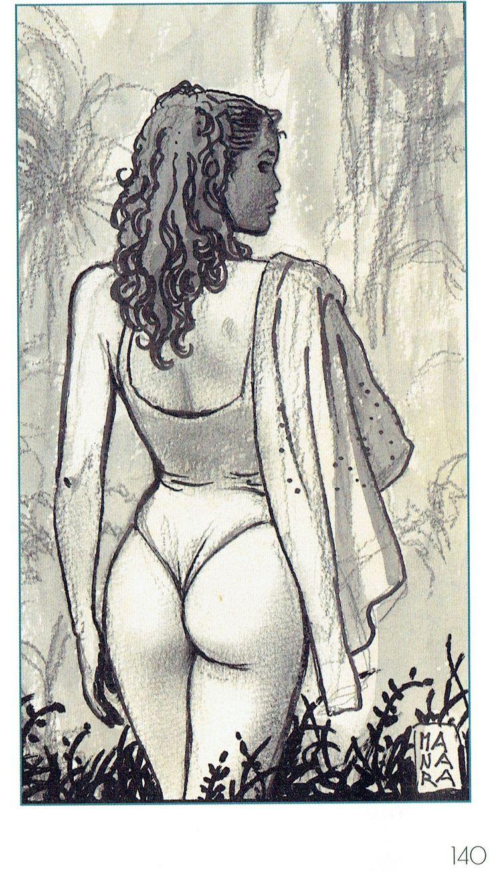 Manara Maestro dell'Eros-Vol. 22, La letteratura illustrata-140