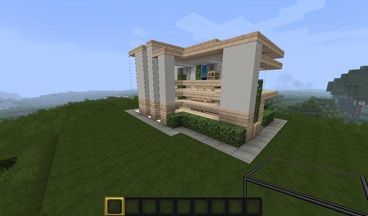 Minecraft Small Modern House Minecraft Project