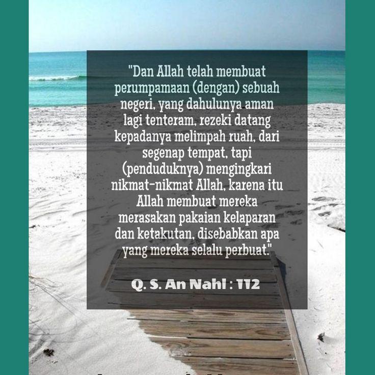 http://nasihatsahabat.com #nasihatsahabat #mutiarasunnah #motivasiIslami #petuahulama #hadist #hadits #nasihatulama #fatwaulama #akhlak #akhlaq #sunnah  #aqidah #akidah #salafiyah #Muslimah #adabIslami #DakwahSalaf # #ManhajSalaf #Alhaq #Kajiansalaf  #dakwahsunnah #Islam #ahlussunnah  #sunnah #tauhid #dakwahtauhid #alquran #kajiansunnah #negeritadinyaaman #mengingkarinikmatAllah #Pakaianketakutandankelaparan #akibatperbuatanmerekasendiri