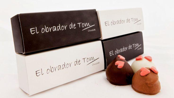 Cajitas de bombones. Ideal para bodas y eventos. Productos artesanos el Obrador de Tom. #bodas #detallesdeboda #eventos