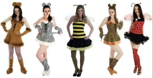 ANIMAL LADIES OUTFIT LION TIGER BUMBLE BEE LADY BIRD MOUSE FANCY DRESS COSTUME in Clothes, Shoes & Accessories, Fancy Dress & Period Costume, Fancy Dress | eBay!