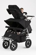A triple stroller that fits through a standard door!  I can't wait to take mine for a spin!