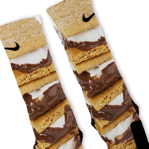 Smores Custom Nike Elite Socks