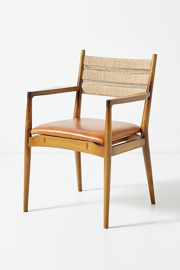 Soho Home X Anthropologie Roped Back Dining Chair Dining Chairs