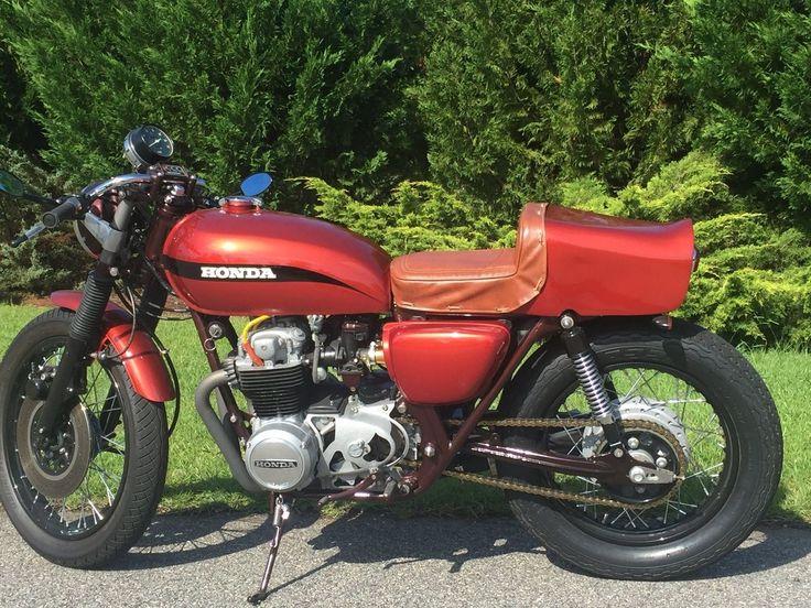 1972 Honda CB500 Cafe Racer for sale via Rocker.co