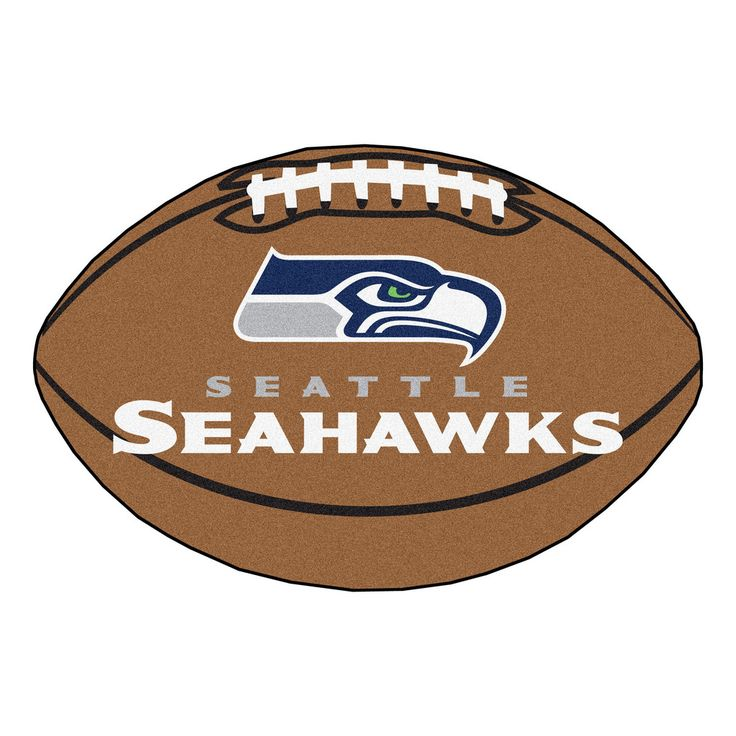 seattle seahawks touchdown football area rug from team sports click now to shop nfl home rugs u0026 flooring