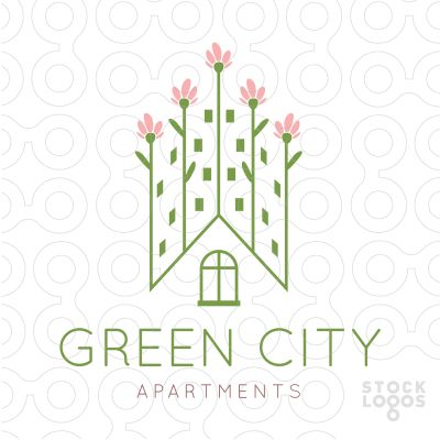 76 best real estate logos for sale by for Apartment logo ideas