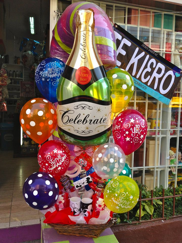 #envío a #domicilio #globos arreglo #aniversario #celebración #regalos Amer  55246977