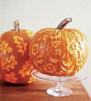 Pretty pumpkin how-to