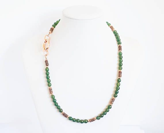 green onyx necklace green necklace handmade necklace