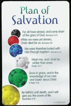Salvation Crafts For Kids