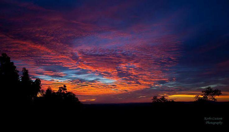 Valley Center Sunset