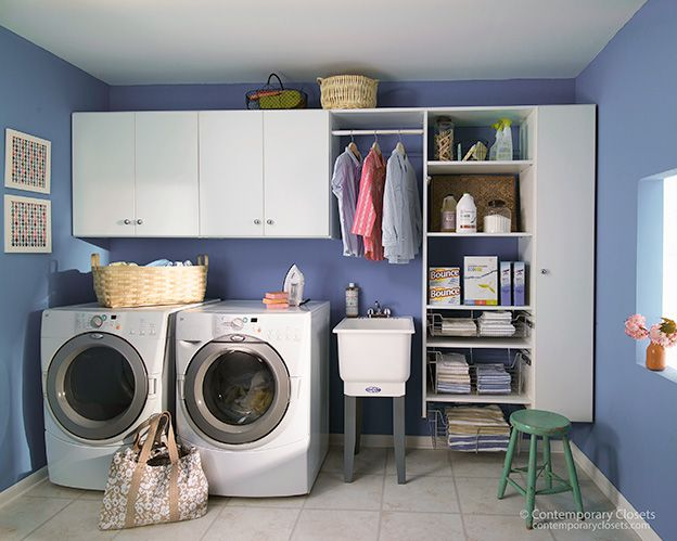4 Essential Tips for Livening Up the Laundry Room | Organize Your Life