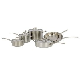 American Kitchen AK-710 Tri-Ply Stainless Steel Cookware Set Review