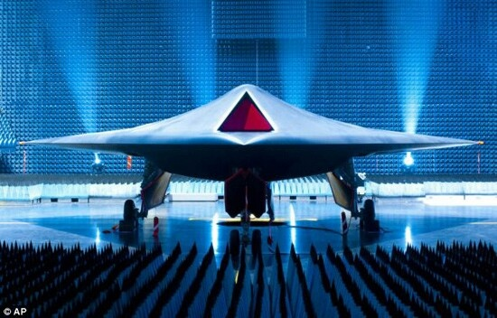 The BAE Systems Taranis is a British demonstrator programme for Unmanned Combat Air Vehicle (UCAV) technology, being developed primarily by the defence contractor BAE Systems. A semi-autonomous unmanned warplane, it is designed to fly intercontinental missions, and will carry a variety of weapons, enabling it to attack both aerial and ground targets. It will utilise stealth technology, giving it a low radar profile, and it will be controllable via satellite link from anywhere on Earth.