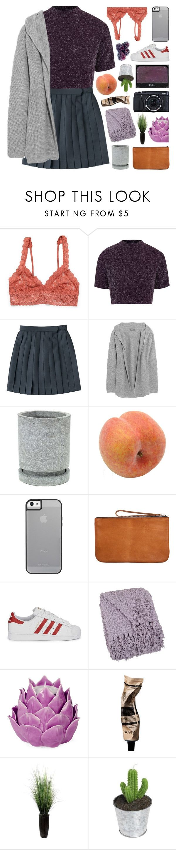 """""""THIS IS THE SONG FOR NO ONE ⚘"""" by d0ntblink ❤ liked on Polyvore featuring Hanky Panky, Oh My Love, N.Peal, Pavilion Broadway, Fujifilm, Pieces, adidas Originals, NARS Cosmetics, Zara Home and Aromatique"""