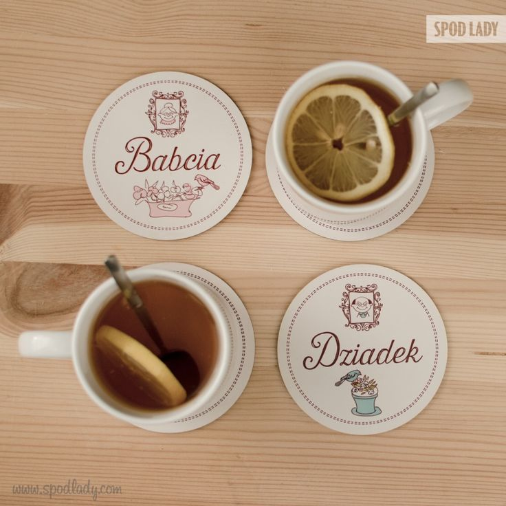 zestaw podkładek Babcia i Dziadek http://www.spodlady.com/prezent_dla_babci