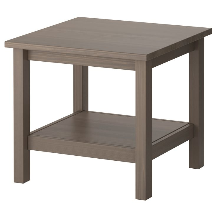 Hemnes Coffee Table Black Brown 90x90 Cm: HEMNES Side Table, Black-brown