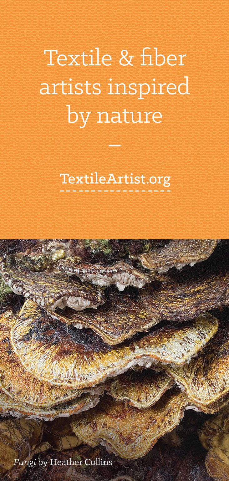Textile artists inspired by nature
