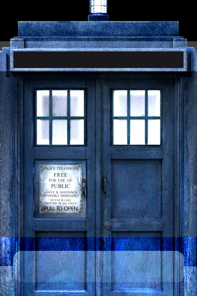 tardis iPhone lock screen picture