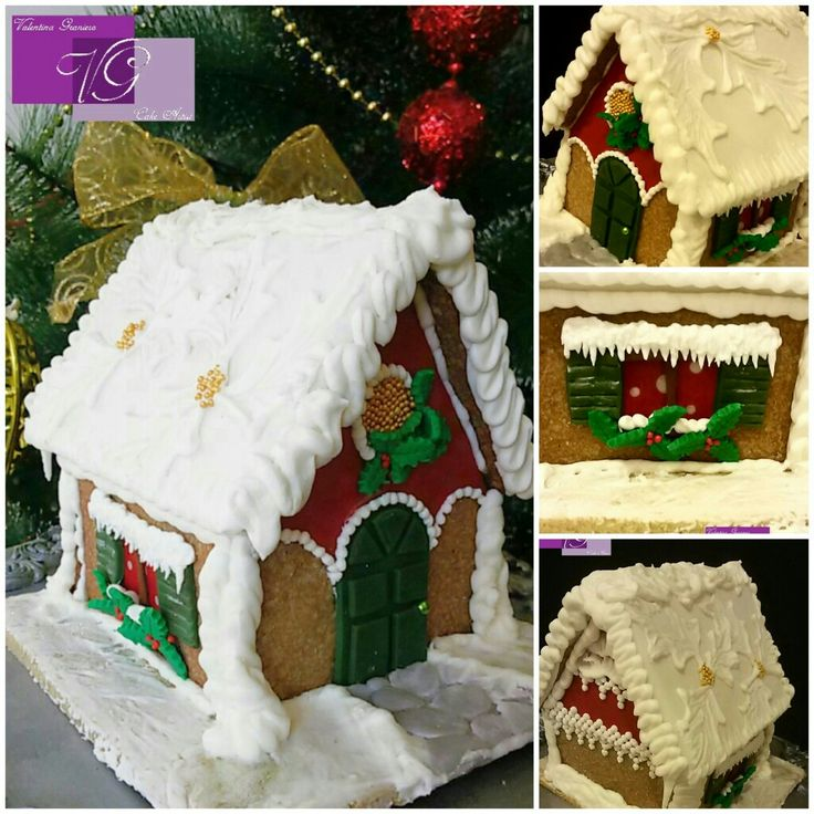 Gingerbread house! !! 😉