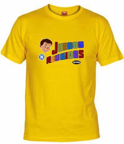 Camiseta Juegos Reunidos