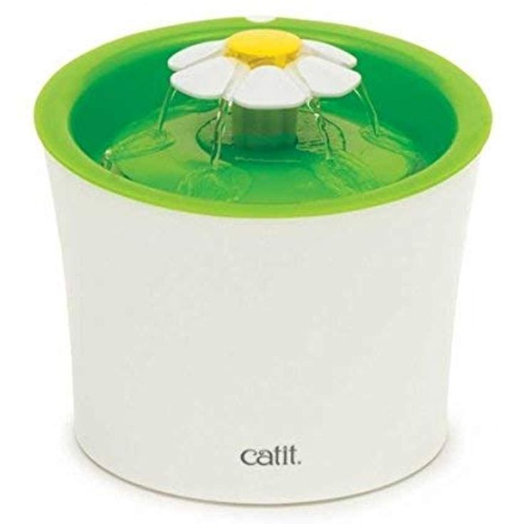 Catit flower fountain 3l drinking fountain with triple