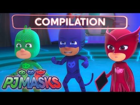 Pyjamasques - Compilation 1 - YouTube