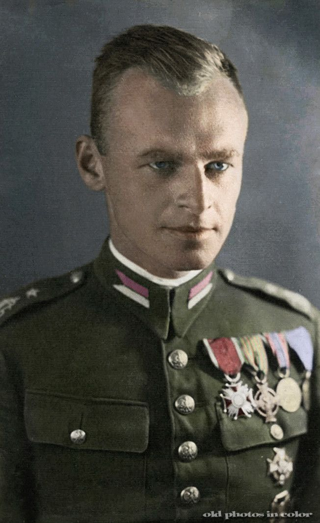 Witold Pilecki. A Polish soldier, the man who told the world about Auschwitz and the Holocaust. He got himself a Jewish ID, got arrested and...