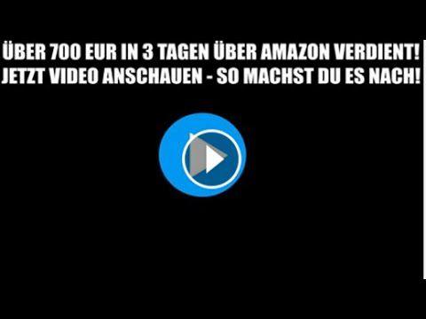 Azon Master Über 700€ in drei Tagen mit Amazon verdient!
