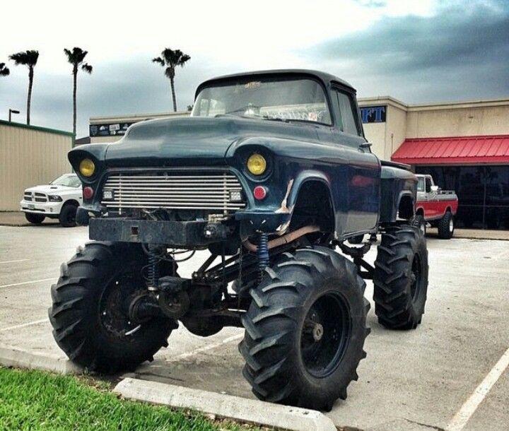 45 best Old Jacked-Up Pickups images on Pinterest ...