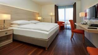 Komfortable Doppelzimmer im H+ Hotel Limes-Thermen Aalen