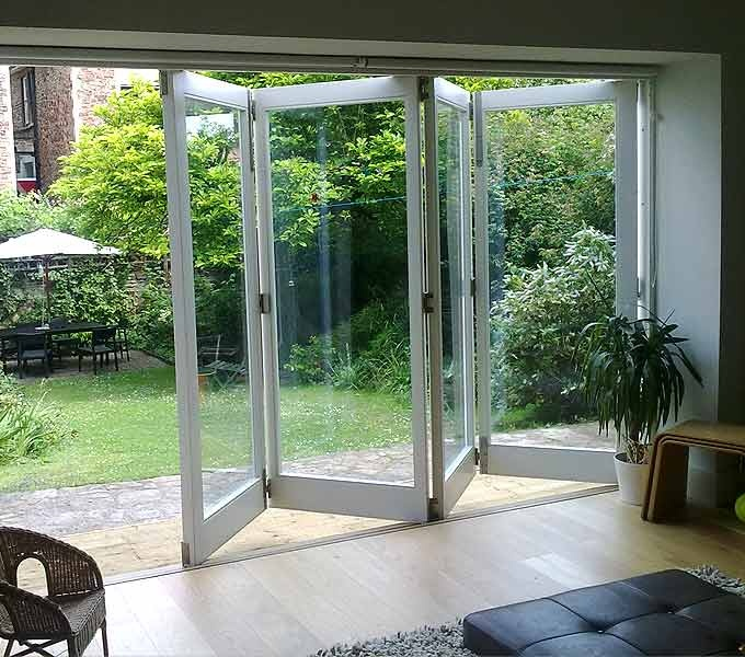 These Timber Bifold doors provide a warm and natural look to any home.