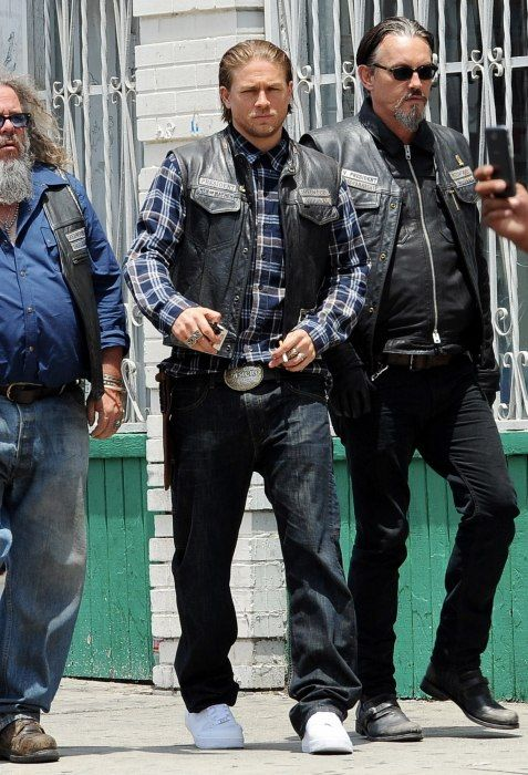 5/29/14 Filming season 7 SOA | Sons of anarchy, Sons of ...