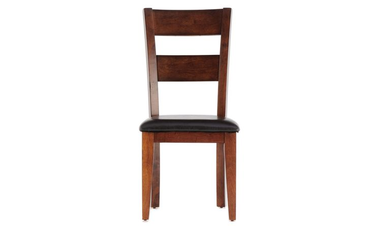 Solid and sturdily built, the Mango Side Chair from Winners Only is an excellent example of the strength and durability of mango wood. Sustainably harvested, mango has a beautiful graining and depth that gives richness to this slightly distressed, industrial chair.