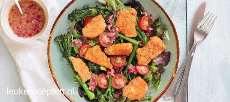 Vegetarisch gevulde portobello, heerlijk als voorgerecht, bijgerecht of zelfs lekker op de BBQ.
