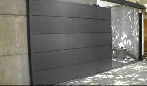 Resultado de imagen para portones de hierro minimalistas