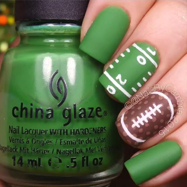It's almost time! Are your nails ready for #SuperBowl50?!