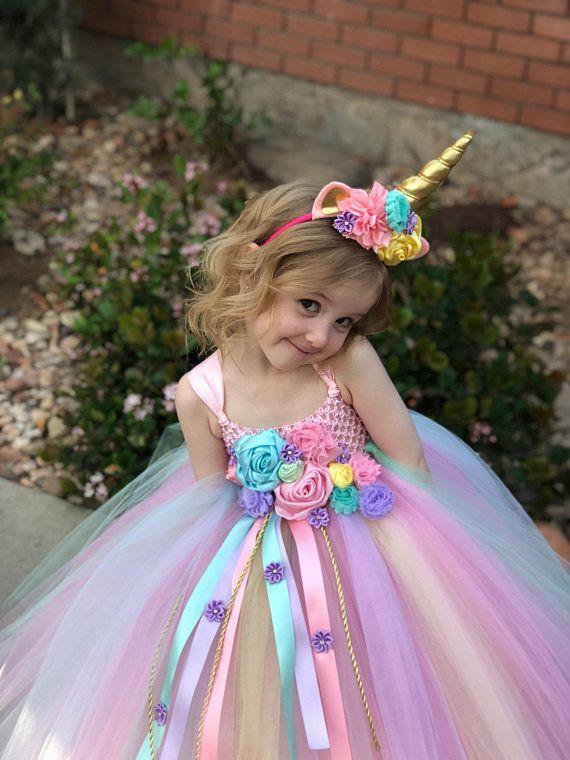 7c6b47645 Unicorn Tutu Dress - unicorn birthday dress - unicorn horn - unicorn ...
