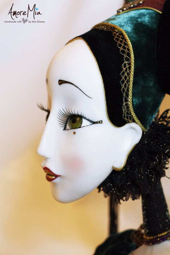 Art Doll OOAK Inetrior Doll by AmoreMiaShop on Etsy